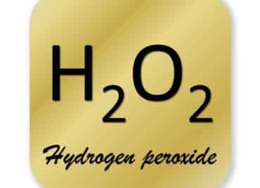 Hydrogen peroxide symbol