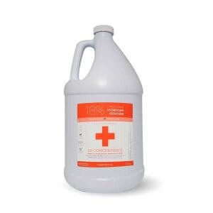 1 Gallon 18% Food Grade Hydrogen Peroxide