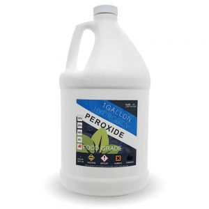 1 Gallon 3% Food Grade Hydrogen Peroxide