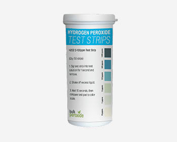 Hydrogen Peroxide Test Strips