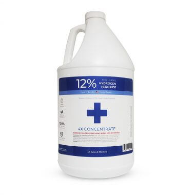 1 Gallon 12% Food Grade Hydrogen Peroxide