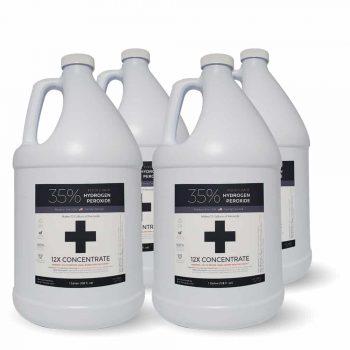 4 Gallons 35% Food Grade Hydrogen Peroxide