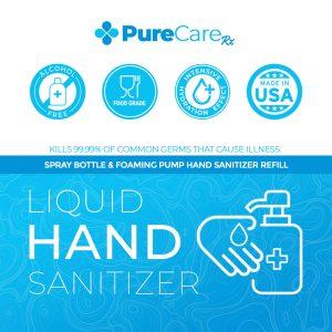 Alcohol Free Food Grade Hand Sanitizer