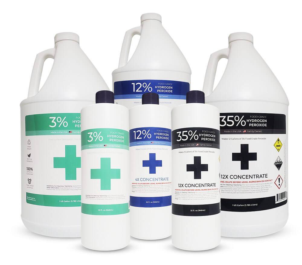 Food Grade Hydrogen Peroxide